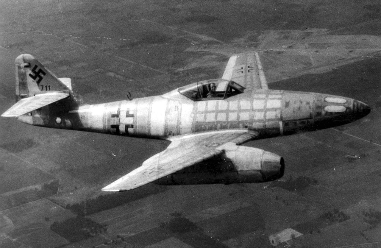 first captured Messerschmitt Me 262