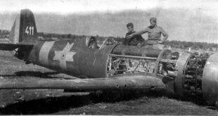 Romanian IAR 81c aircraft world war two