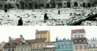 then and now warsaw world war ii