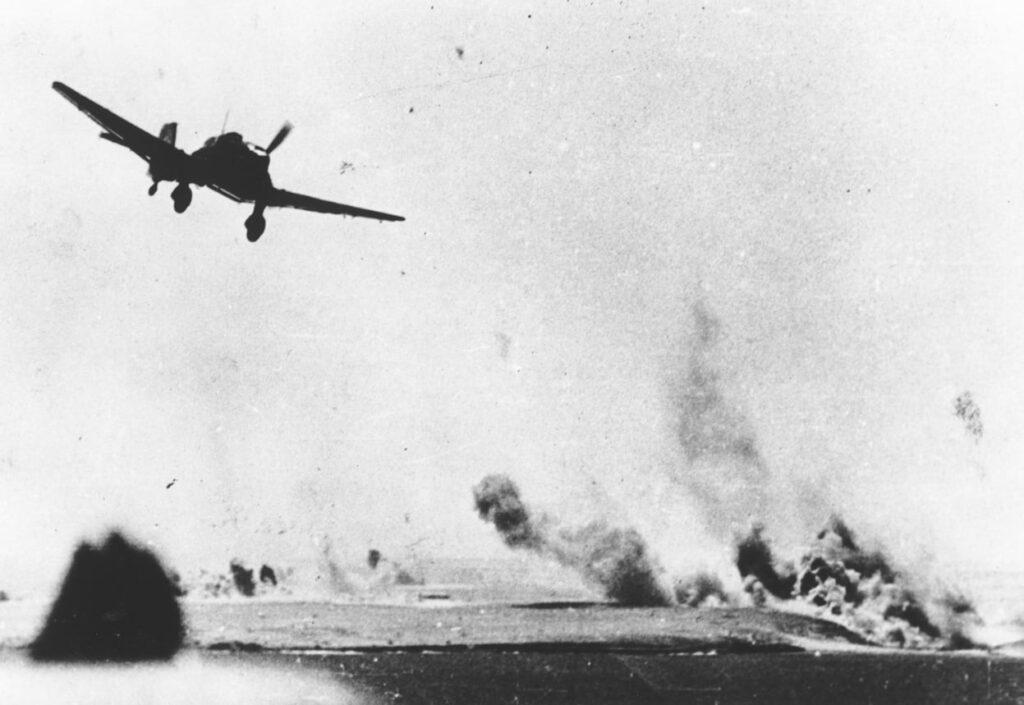 World War Two Stuka Bomber