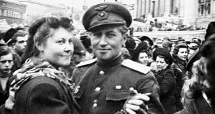austrian women soviet officer dancing vienna