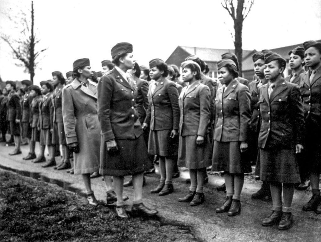 black women world war two