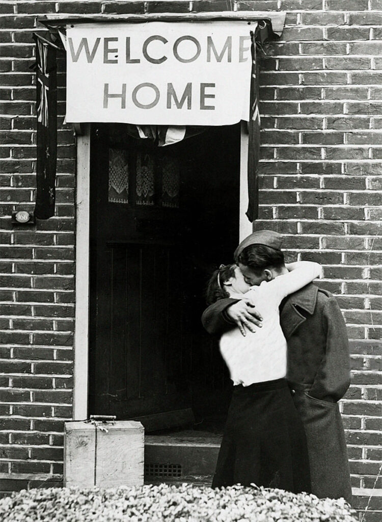 british soldier welcome home