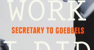brunhilde pomsel goebbels secretary book review