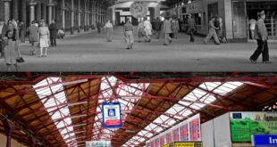 then and now bucharest north train station