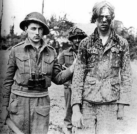 canadian soldier beaten german pow