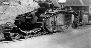 char b1 tank ww2