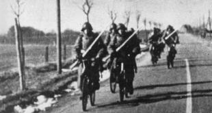 danish soldiers bicycle regiment wwii denmark invasion