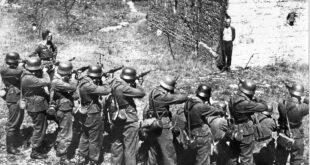 georges blind mock execution world war II