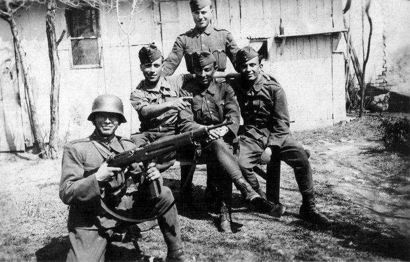 hungarian soldiers carpathian mountains ww2