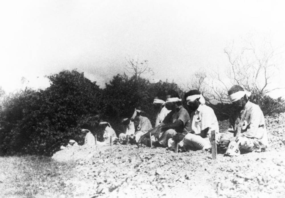 indian prisoners shot japanese ww2