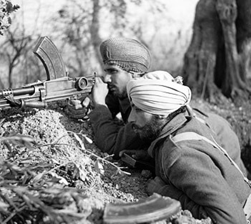 indian sikh soldiers ww2
