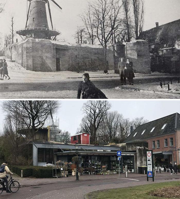 netherlands then and now alkmaar ww2