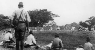 sikh prisoners target practice japanese ww2