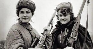 soviet women snipers ww2