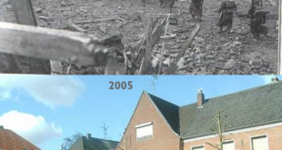 then and now germany world war ii