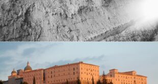 then and now monte cassino abbey ww2