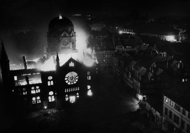 kristallnacht hanover synagogue