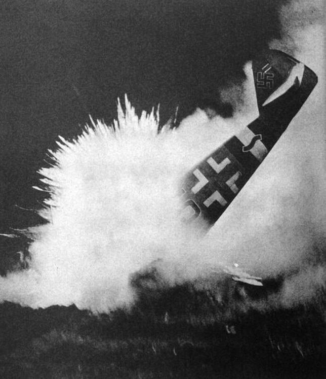 messerschmitt crash