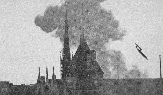 v1 flying bomb london