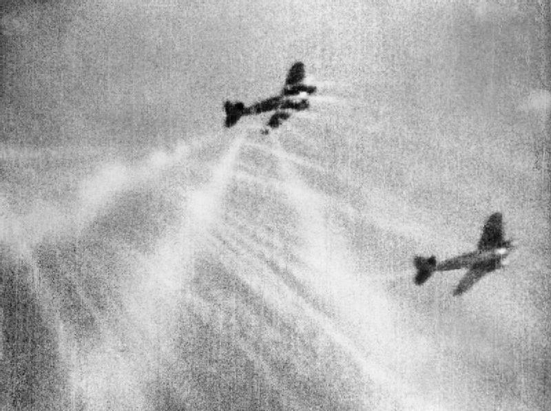 spitfire heinkel dogfight