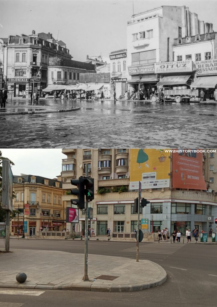 unirii square then and now