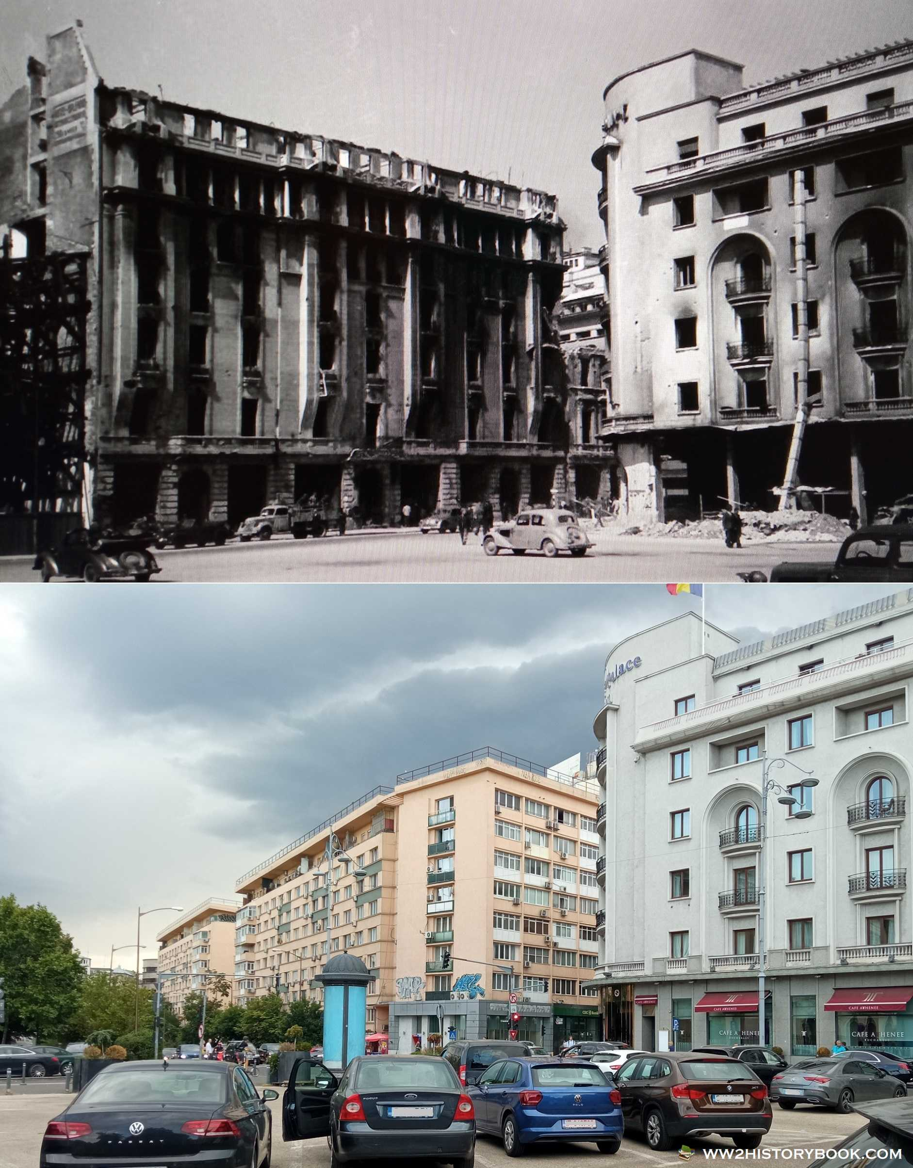 athenee palace hotel world war 2 bombing
