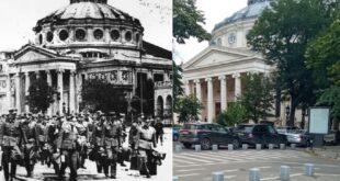 bucharest then and now world war ii