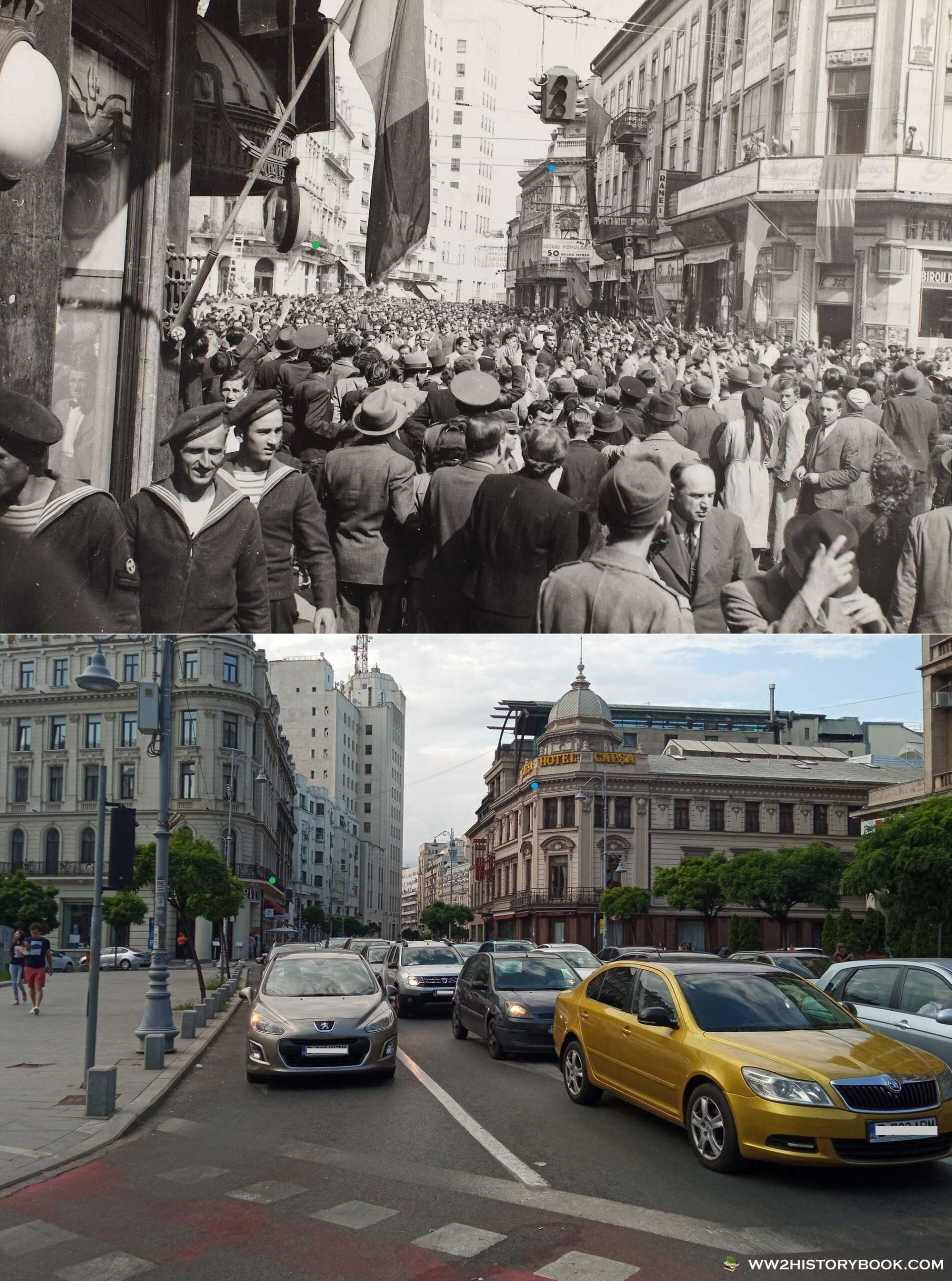 capsa capitol bucharest then and now