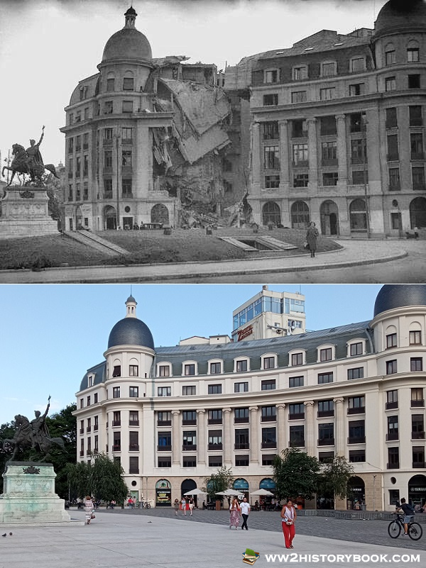 bucharest then and now