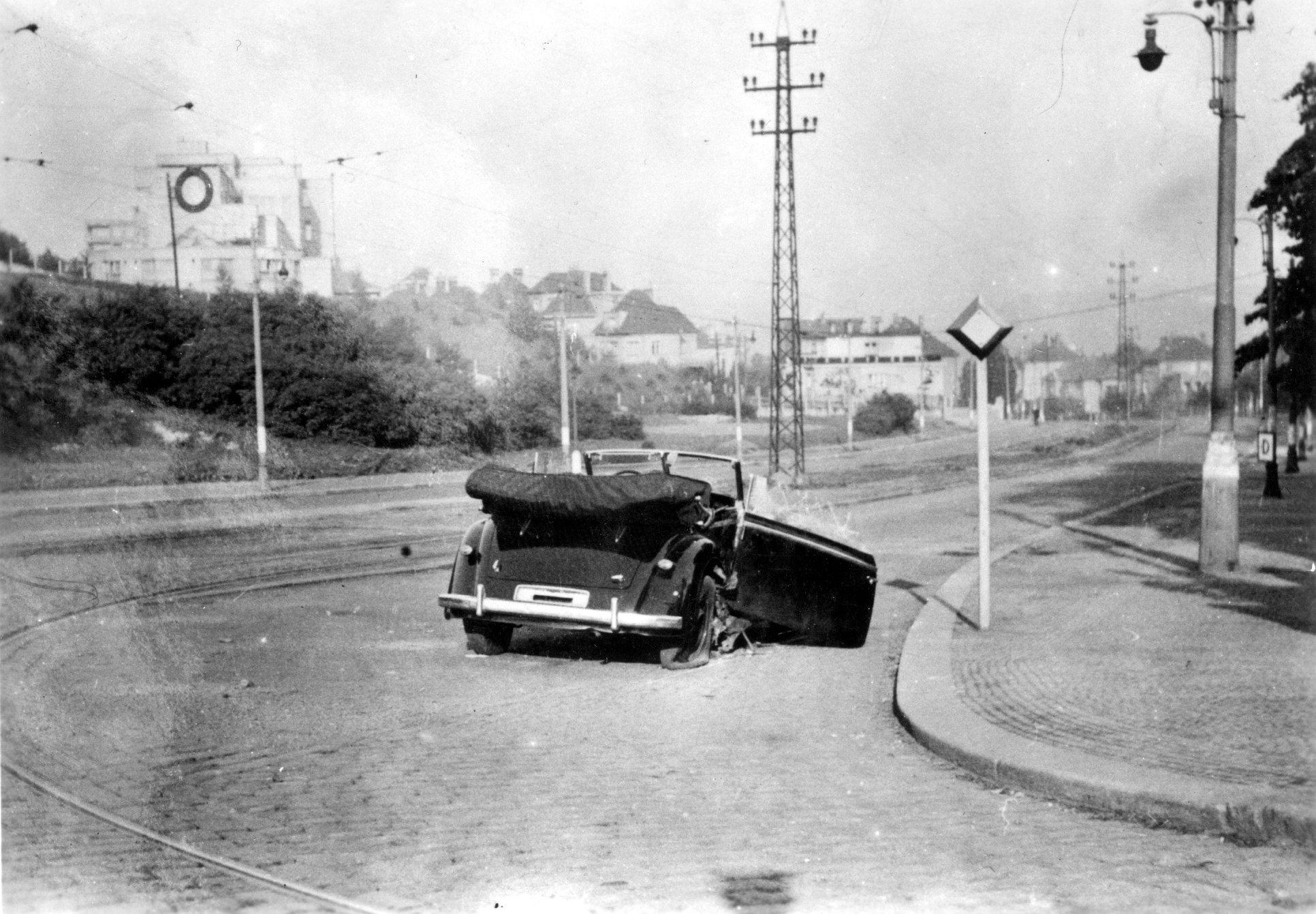 reinhard heydrich car assassination